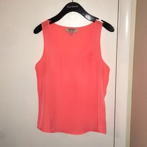 Peachy/orange juicy couture tank.